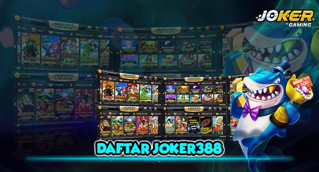 Daftar ID Joker388