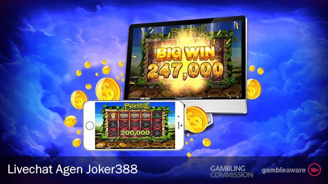 Livechat Agen Joker388 Terbaik